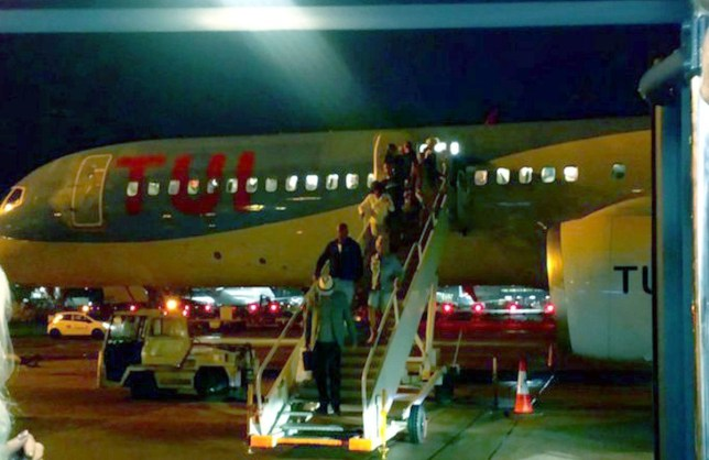 Plane load of passengers held on runway after being hit by diarrhoea