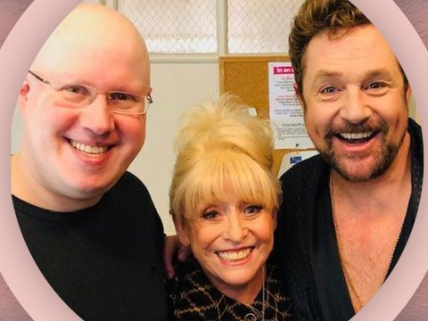 Barbara Windsor enjoys evening with Matt Lucas as she makes rare public appearance at the theatre