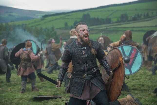 A still from the TV series Vikings