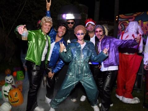 Jessica Biel wins Halloween as she rocks NSYNC-era Justin Timberlake costume for star-studded bash