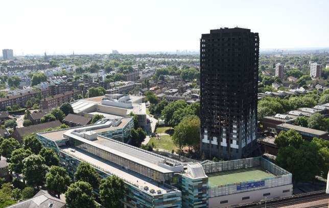 File photo dated 17/06/17 of Grenfell Tower in west London. Prosecutors have admitted they should have disclosed evidence earlier in the trial of a man cleared over filming a cardboard model of Grenfell Tower burning on a bonfire.
