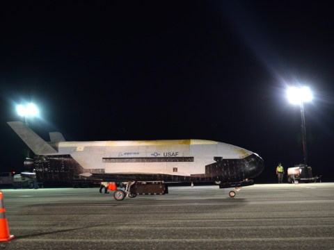 US military's secret 'space plane' has landed after 780 days in orbit