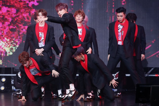 South Korean boy group NCT 127