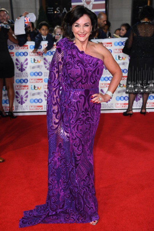 Mandatory Credit: Photo by David Fisher/REX (10458431bb) Shirley Ballas Pride of Britain Awards, London, UK - 28 Oct 2019