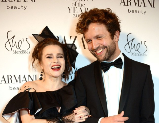 Helena Bonham Carter and Rye Dag Holmboe