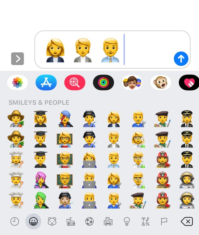 Gender-neutral emoji are now available on your iPhone
