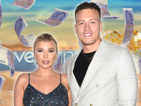 Love Island's Olivia and Alex Bowen are show's richest stars with combined fortune of over £4 million
