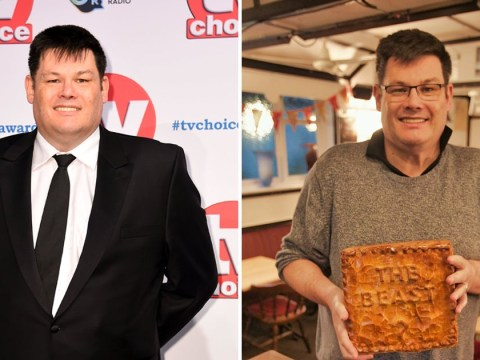 What has The Chase's Mark Labbett said about his weight loss after reuniting with his wife?