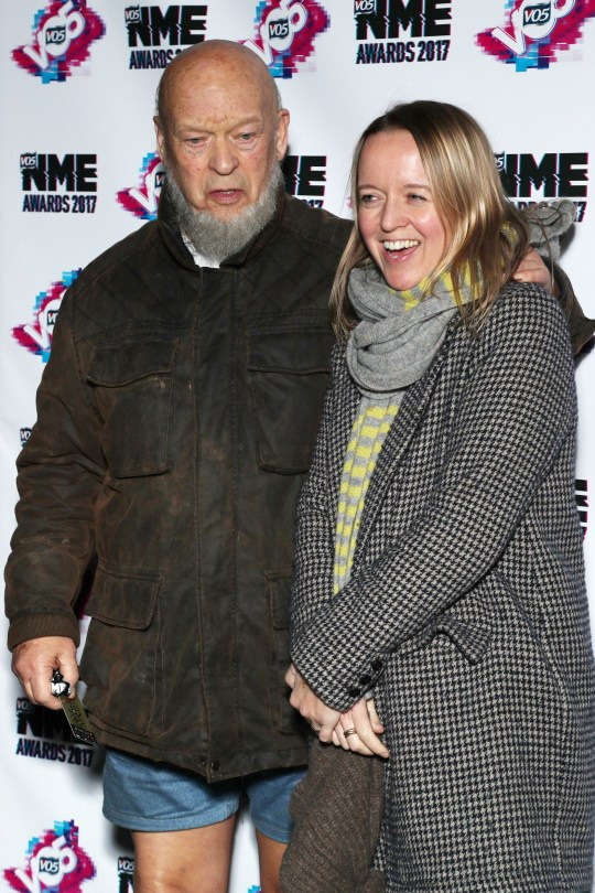 Mandatory Credit: Photo by REX (8408430q) Michael and Emily Eavis VO5 NME Awards, Arrivals, London, UK - 15 Feb 2017