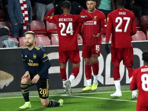 Arsenal's Shkodran Mustafi speaks out on own goal in 5-5 thriller against Liverpool