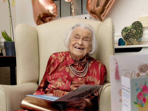 107-year-old woman says the secret to a long life is staying single
