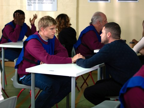 Emmerdale spoilers: Robert Sugden's final exit scene revealed as he says a painful goodbye to Aaron Dingle
