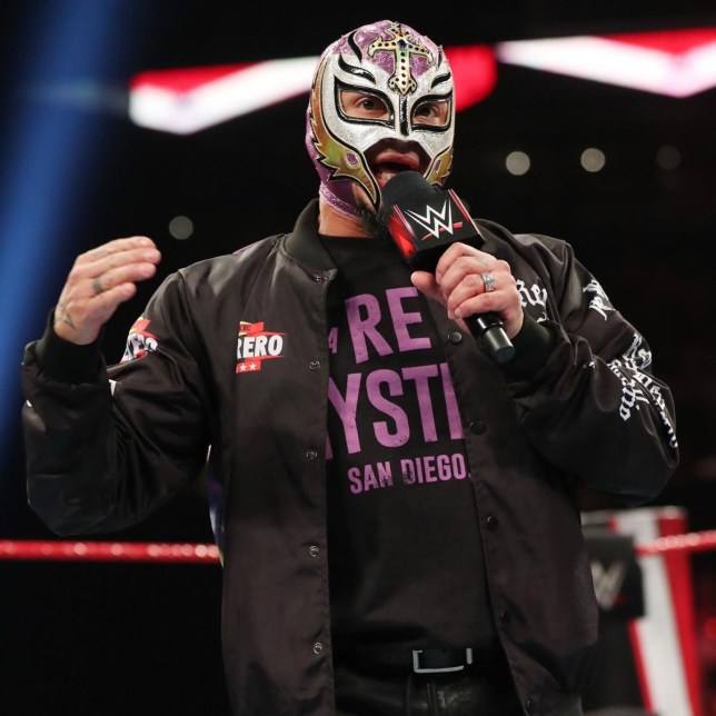 Rey Mysterio for WWE