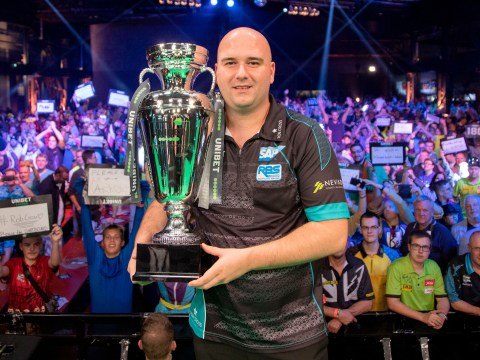 Rob Cross takes aim at Michael van Gerwen's world number one spot after European Championship win