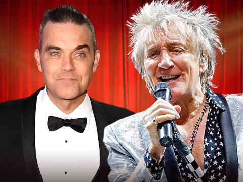 Robbie Williams to duet with Rod Stewart at Royal Variety Performance for Christmas surprise