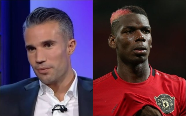 Robin van Persie has urged Paul Pogba to speed up his passing after Manchester United's 1-1 draw with Arsenal