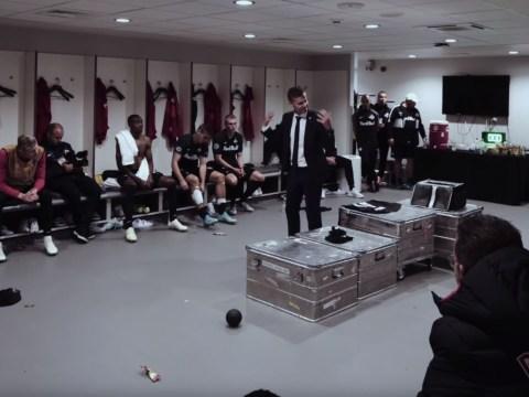 VIDEO: Salzburg coach Jesse Marsch orders players to target Virgil van Dijk in angry half-time team talk against Liverpool