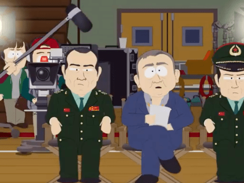 Why has South Park been banned in China and what happens in its latest episode?