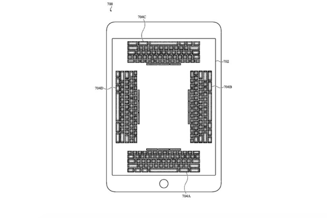 A drawing from Apple's patent filing (Image: Apple)