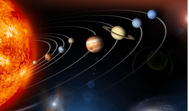 An illustration of the solar system (Image: Nasa)