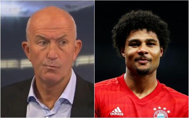 Tony Pulis admits he's 'amazed' by Serge Gnabry's development at Bayern Munich
