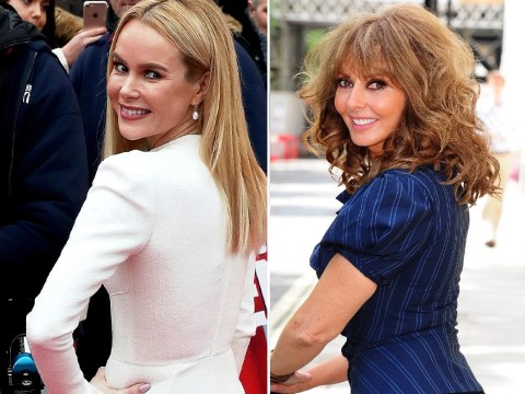 Amanda Holden reckons Carol Vorderman has a 'bum you can really bite'