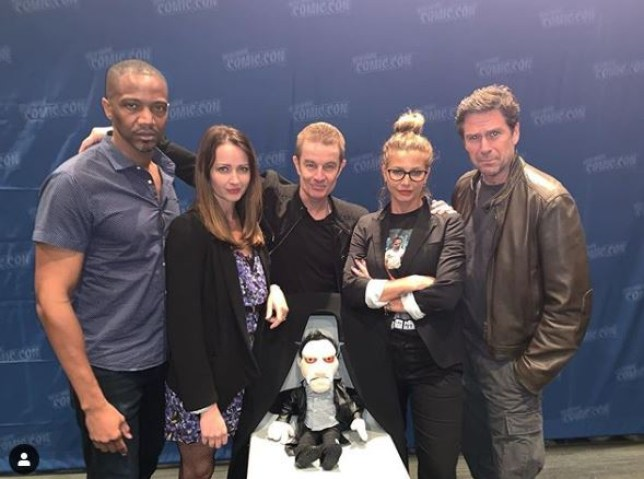 Angel cast at NYCC