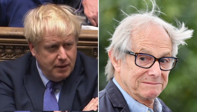 Ken Loach calls on British public to 'defeat' Boris Johnson's Conservative government
