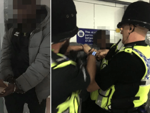 Boy handcuffed by police after phone dies and he can't pay for Tube