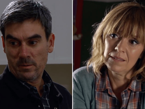 Emmerdale makes reference to Jeff Hordley and Zoe Henry's real-life marriage