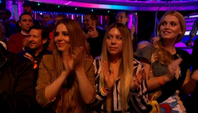 Cheryl spotted in Strictly Come Dancing audience as week five kicks off
