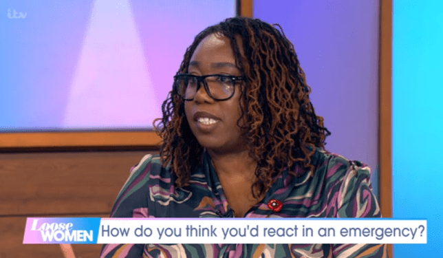 Chizzy Akudolu talks about how she was held at gunpoint on Loose Women