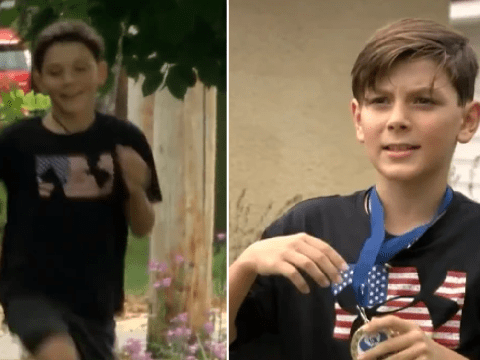 Boy, 9, takes wrong turn on 5k race and ends up winning 10k run instead