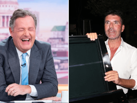 Piers Morgan makes cheeky dig at Simon Cowell's 'plastic surgery' on 60th birthday