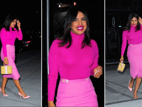 Priyanka Chopra lets outfit do the talking as she promotes The Sky Is Pink in New York
