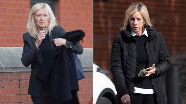 Jacqueline Wilson and Jacqueline Goosey were both handed suspended sentences at Preston crown court