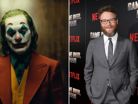 Joker's creepy laugh edited with Seth Rogen might be even more sinister