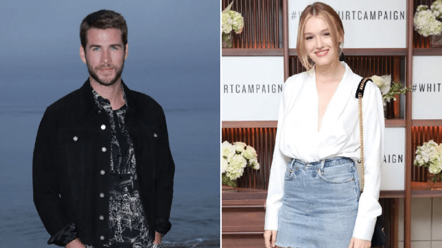 Liam Hemsworth pictured holding hands with Maddison Brown ...