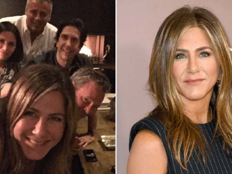 Jennifer Aniston finally joins Instagram and reveals full Friends cast reunion dinner