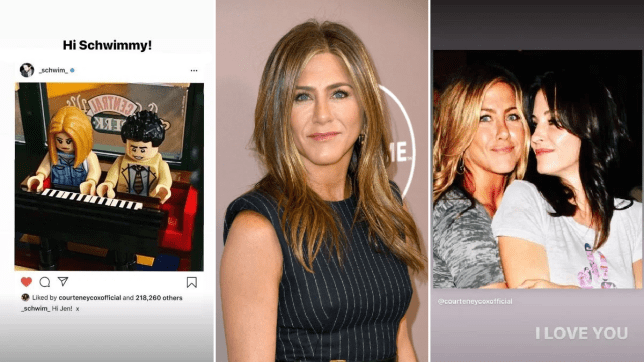 Jennifer Aniston welcomed to Instagram