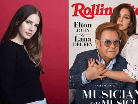 Lana Del Rey proves you can interview your bestie as she gets inside scoops from Elton John
