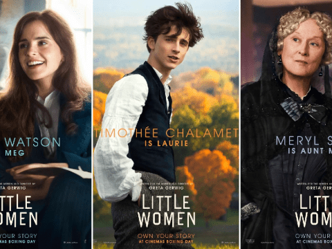 Emma Watson and Timothée Chalamet join Meryl Streep in wonderfully bizarre Little Women posters