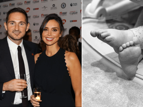 Christine Lampard reveals daughter Patricia started walking in 'most gorgeous little moment'