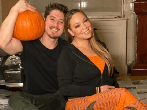 Mariah Carey takes inspo from Jack Skellington as she becomes Pumpkin Queen on Halloween