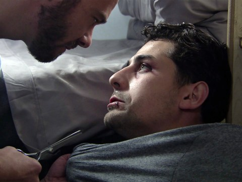 Did David stab Josh in Coronation Street and does he get out of prison?