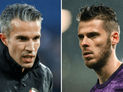 Robin van Persie disagrees with David de Gea that Manchester United 'deserved' to beat Arsenal