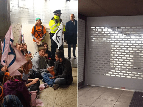 Parliament's homeless 'left in the gutter' after eviction from Westminster tube
