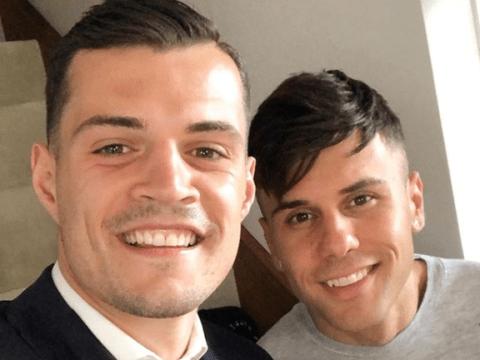 Granit Xhaka's best friend slams Arsenal boo boys and reveals midfielder was 'grief-stricken' on phone