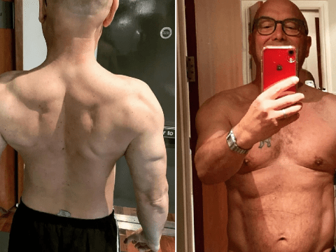 Gregg Wallace shows off his ripped upper body after vowing to sort out health