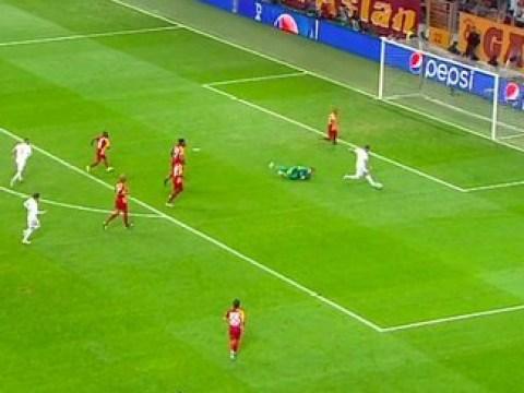 Zinedine Zidane reacts after Chelsea hero Eden Hazard misses open goal for Real Madrid